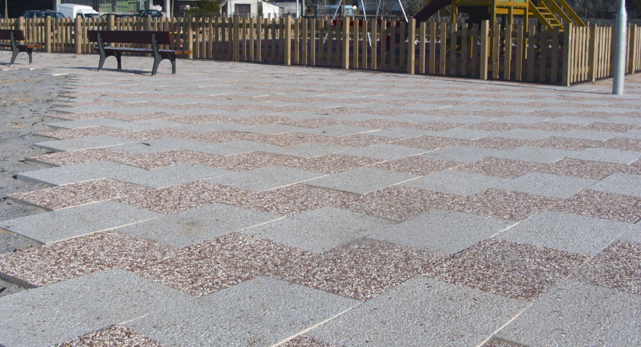 Pavings by alcupel pavimentos exteriores baldosas - Pavimentos exteriores hormigon ...